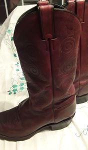Justin Cowboy Boots mens size 10EE